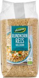 Kerekszemű rizs, natur, bio, Dennree (1000g)