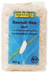 Basmati rizs, fehér, Himalaya, bio, Rapunzel (500 g)
