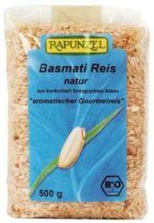 Basmati rizs, natur, Himalaya, bio, Rapunzel (500 g)