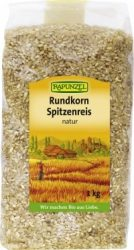 Kerekszemű rizs, natur, bio, Rapunzel (1000 g)