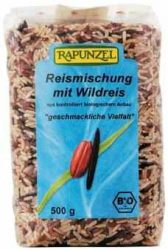 Rizskeverék vadrizzsel, bio, Rapunzel (500 g)