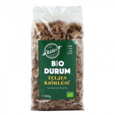 Durum tészta, teljes kiőrlésű, barna, bio, Rédei (500 g)