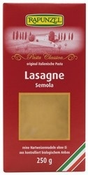 Lasagne, fehér durumdarás, bio, Rapunzel (250 g)