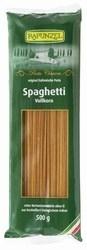 Spagetti, barna teljes kiőrlésű, bio, Rapunzel (500 g)