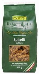 Spiráltészta, barna teljes kiőrlésű, bio, Rapunzel (500 g)