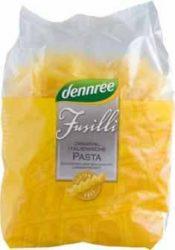 Kukorica száraztészta, fussili, bio, gluténmentes, Dennree (500g)