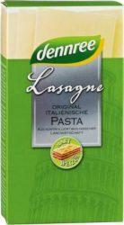 Lasagne durumbúzából, fehér, bio, Dennree (250g)