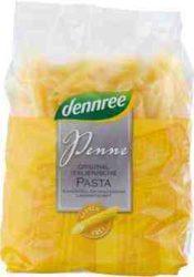 Kukorica száraztészta, penne, gluténmentes, bio, Dennree (500g)