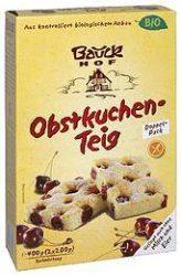 Gyümölcsös sütemény keverék, gluténmentes, bio, Bauck Hof (400g)