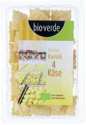 Friss ravioli 4 sajttal, bio, Bio Verde (250g)