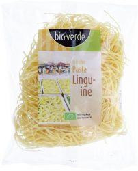 Friss vékony spagetti tészta (linguine), bio, Bio Verde (250g)