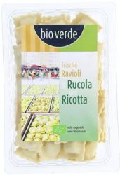Friss ravioli rukkolával és ricottával, bio, Bio Verde (250g)