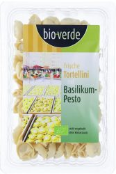 Friss tortellini, bazsalikomos-pestos, bio, Bio Verde (200g)