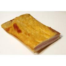 Sertés füstölt hasa alja szalonna, darabolt, nitrit mentes, bio (Széles Hús)