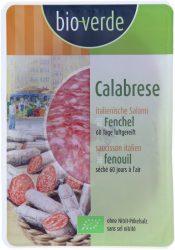 Calabrese szalámi, szeletelt, bio, Bio Verde (80g) - 2021/04/19.