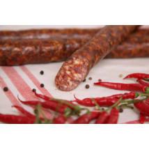 Házi kolbász, nitrit mentes, csemege, bio, Széles Hús (HU) - 2021/11/07.