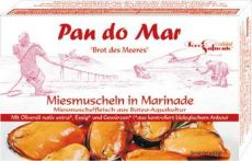 Fekete kagyló, bio marinában, Pan do Mar (120g)