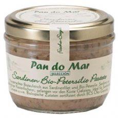 Szardínia pástétom bio petrezselyemmel, Pan do Mar (12gg)