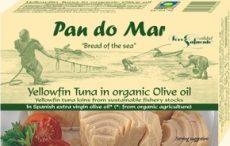 Sárgaúszójú tonhal, bio olivaolajban, Pan do Mar (120g)