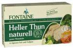 Világos tonhal bio natúr lében, Fontaine (120g)