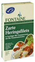 Heringfilé bio paradicsom szószban, Fontaine (200g) - 2024/12/31.