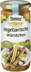 Vegetariánus virsli, bio, Ökoland (380g)