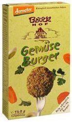Zöldség-burger keverék, bio, Bauck Hof (160g)