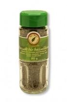 Bazsalikom száritmány szórófejes üvegben, bio, Bio Berta (20 g)