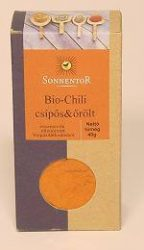 Chilli, őrölt, bio, Sonnentor (40 g)