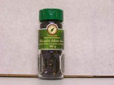 Feketebors őrlőfejes üvegben, egész, bio, Bio Berta (50g) - 2025/06/08.