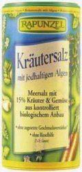 Zöldfűszersó algával szóródobozban, jódtartalmú, bio, Rapunzel (125 g)