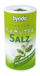 Fűszeres atlanti tengeri só dobozban, bio, Byodo (125 g)