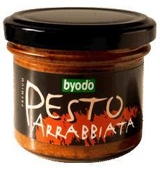 Pesto arrabbiata, bio, Byodo (100 g)