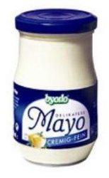 Majonéz, delikatess, üveges, bio, Byodo (250 ml)