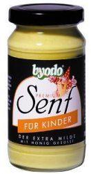 Mustár, gyermek, üveges, bio, Byodo (200 ml)