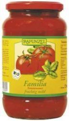 Paradicsomszósz, családi, bio, Rapunzel (550 g)