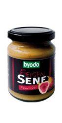 Mustár, füge ízesítéssel, üveges, bio, Byodo (125 ml)