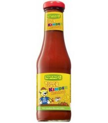 Tigris ketchup gyermekeknek, paradicsomos, bio, Rapunzel (450ml)