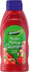 Bambini gyermek ketchup, bio, Dennree (500g)