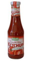 Ketchup, paradicsomos, cukormentes, agávé-sziruppal, bio, Byodo (500ml)