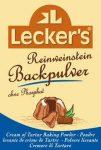 Borkő sütőpor, bio, Lecker's (4*21g)