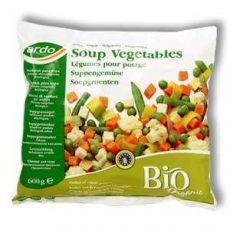 Zöldségleves mix, fagyasztott, bio, Ardo (600g)