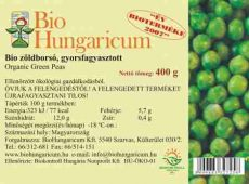 Zöldborsó, zsenge, fagyasztott, bio, BioHungaricum (400g)