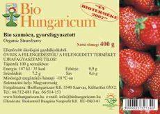 Szamóca, fagyasztott, bio, BioHungaricum (400g)