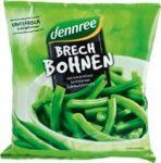 Zöldbab, vágott, fagyasztott, bio, Dennree (450g)