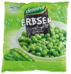 Zöldborsó, fagyasztott, bio, Dennree (450g)