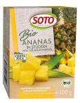 Ananász kockák fagyasztva, bio, Soto (300g) - 2022/17/31.