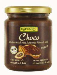 Csokoládékrém tej és mogyoró nélkül, vegán, bio, Rapunzel (250 g)