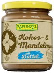Kókusz-mandula krém, ízesített, bio, Rapunzel (250g)