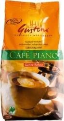 Gustoni Café Piano, szemes, bio, Dennree (1000g)